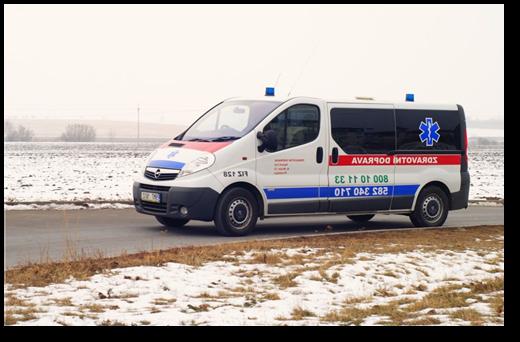 Zdravotní doprava Spáčil